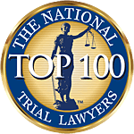 Logo Recognizing The Law Offices of Paul H. Nathan's affiliation with National Trial Lawyers Top 100