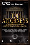 Logo Recognizing The Law Offices of Paul H. Nathan's affiliation with San Francisco Magazine Top Attorneys